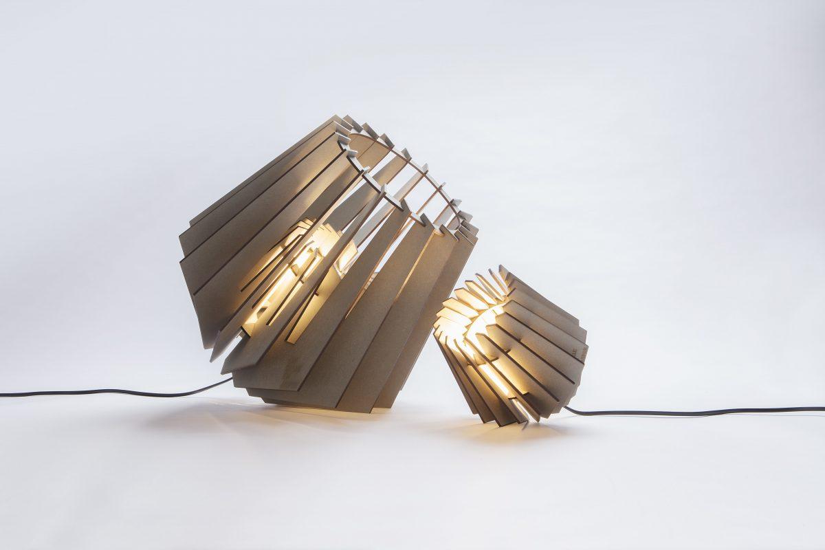 Van Tjalle En Jasper Spotnik Mini Spot Set Tafellamp Grijs Dutch Design Lampen