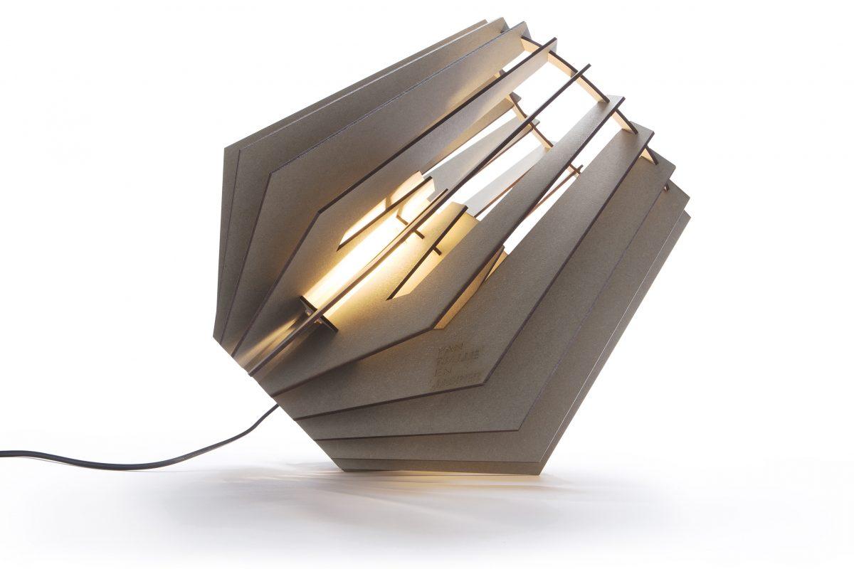 Van Tjalle En Jasper Spotnik Spot Nik Lamp Grijs Design