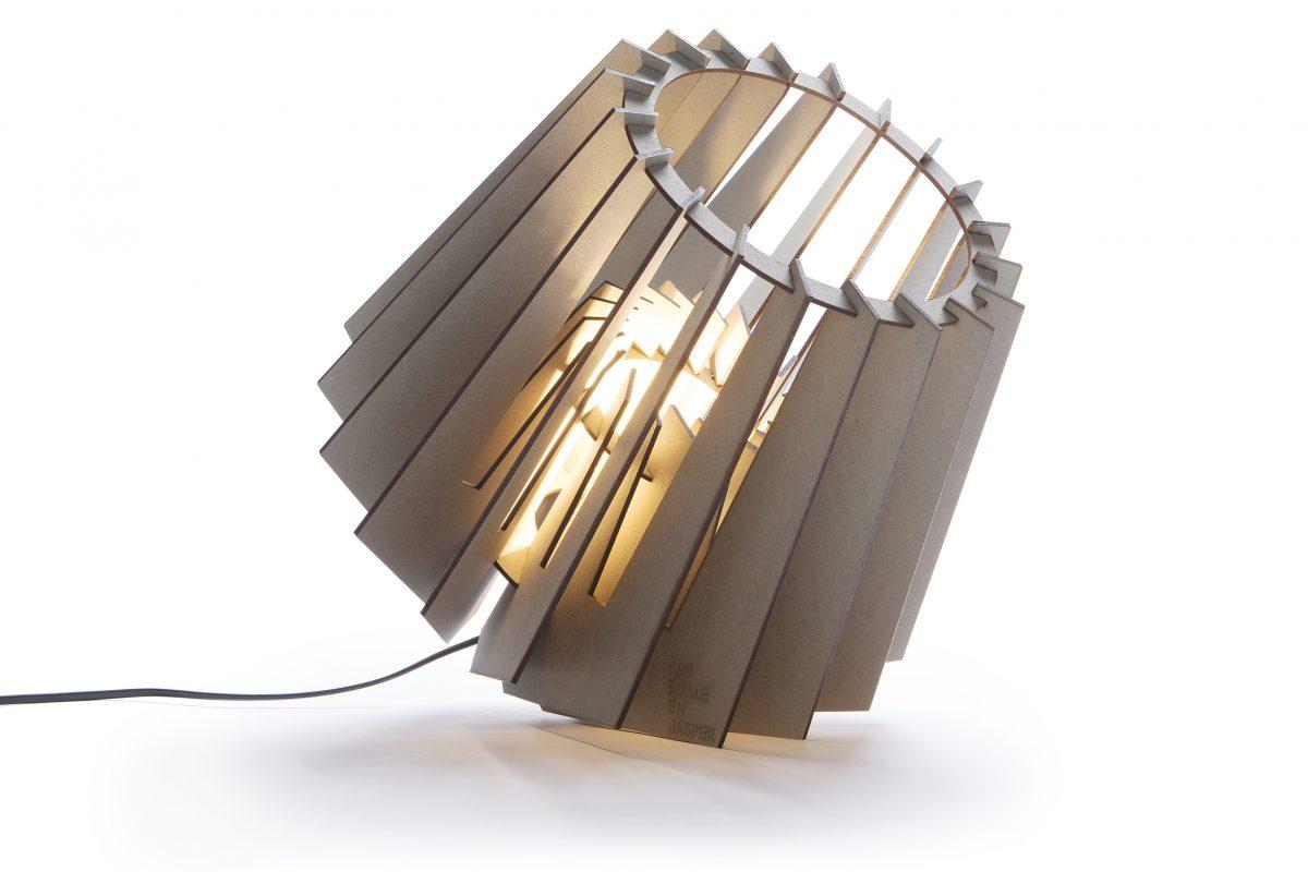 Van Tjalle En Jasper Spotnik Spot Nik Lamp Grijs Grey Dutch Design Verlichting