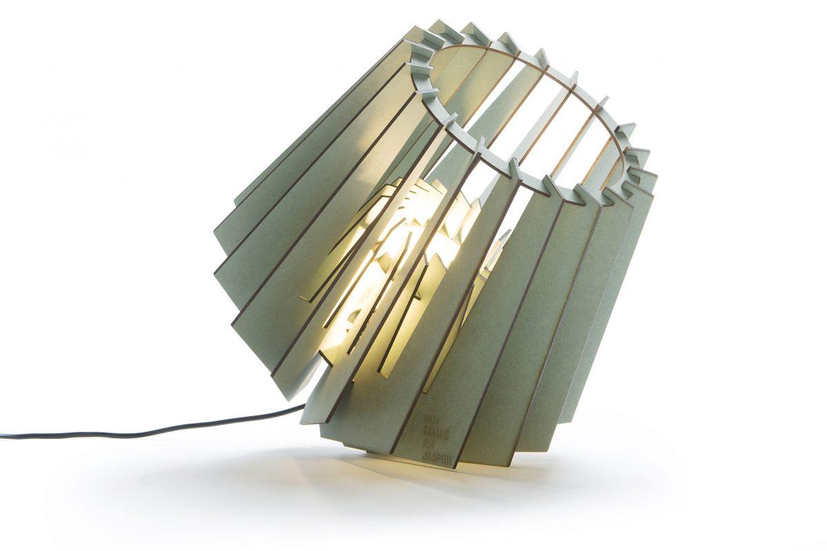 Van Tjalle En Jasper Spotnik Spot Nik Lamp Groen Design