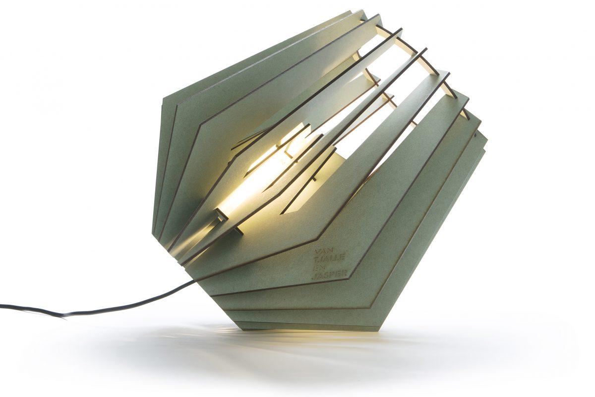 Van Tjalle En Jasper Spotnik Spot Nik Lamp Groen Green Dutch Design