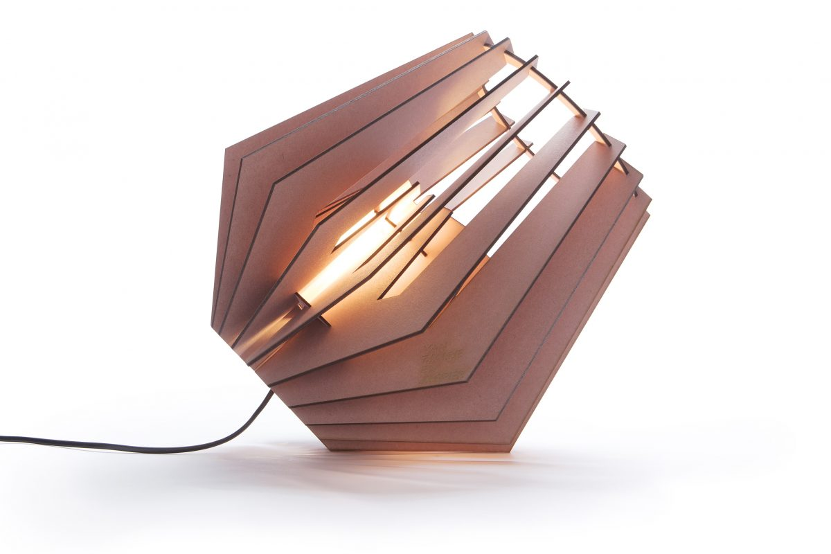 Van Tjalle En Jasper Spotnik Spot Nik Lamp Roze Design