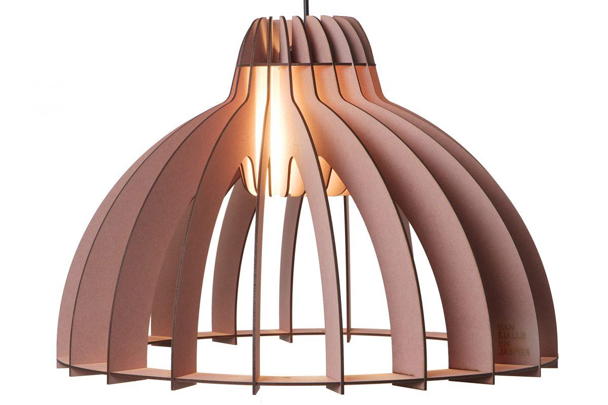 Van Tjalle En Jasper Granny Smith Hanglamp Roze Dutch Design