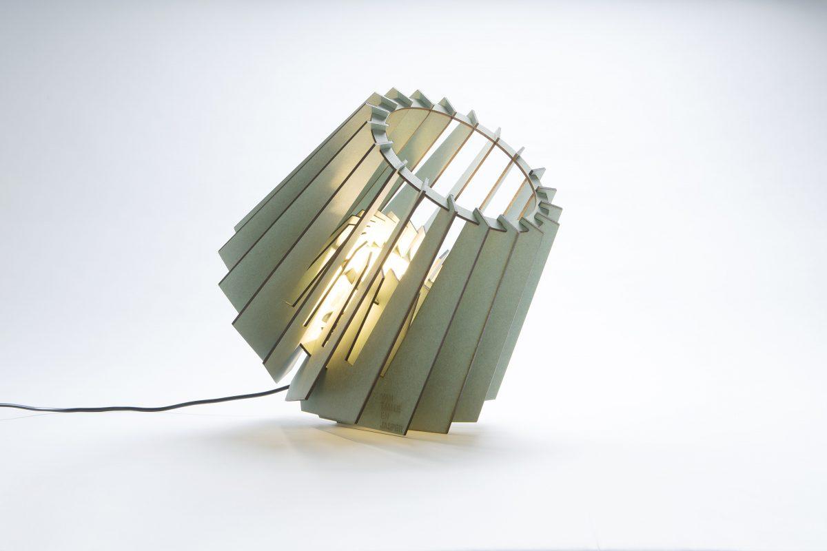 VanTjalleenJasper Mini Spot Kleur Groen Tafellampje Design