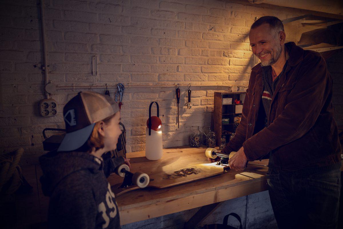Weltevree Guidelight Re Skateboard Werken Verlichting Mobiel