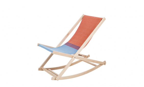 Beach rocker schommelstoel
