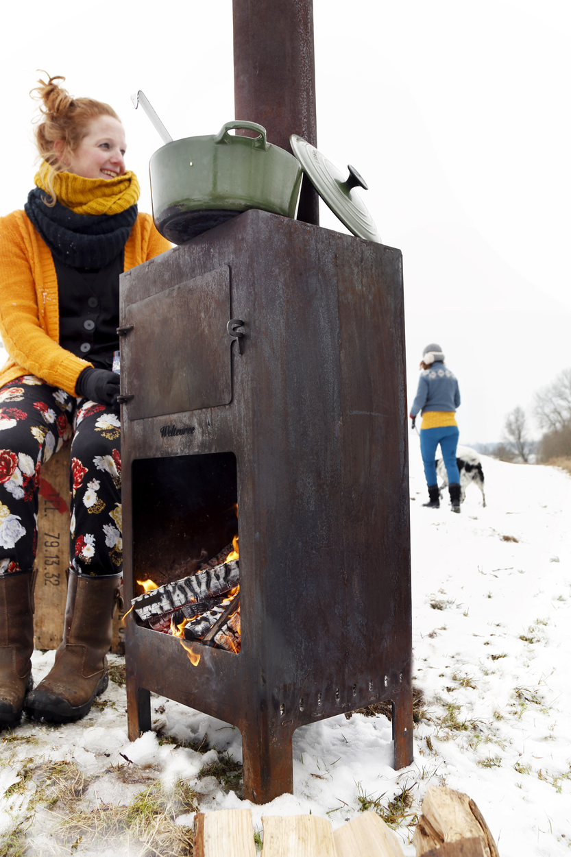 Weltevree Outdooroven Winter Pan Outdoor Cooking Gimmiishop