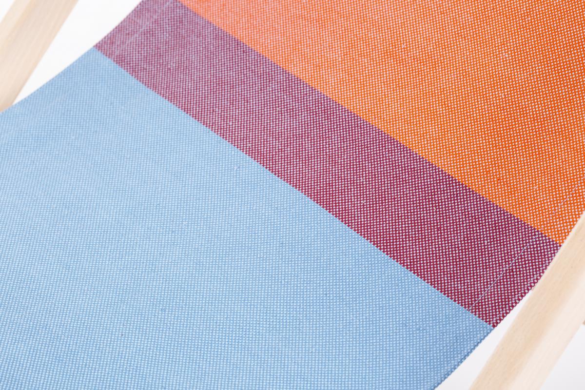 Weltevree Dutchdesign Strandstoel Textiel Rood Blauw Rawcolor Erikstehmann