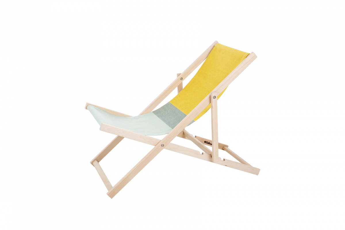Weltevree Strandstoel Geel Groen Beach Chair Dutchdesign