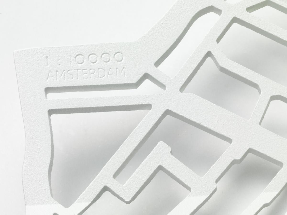 Frederik Roije METROBOWL AMSTERDAM Wit Luxe Cadeau Dutch Design