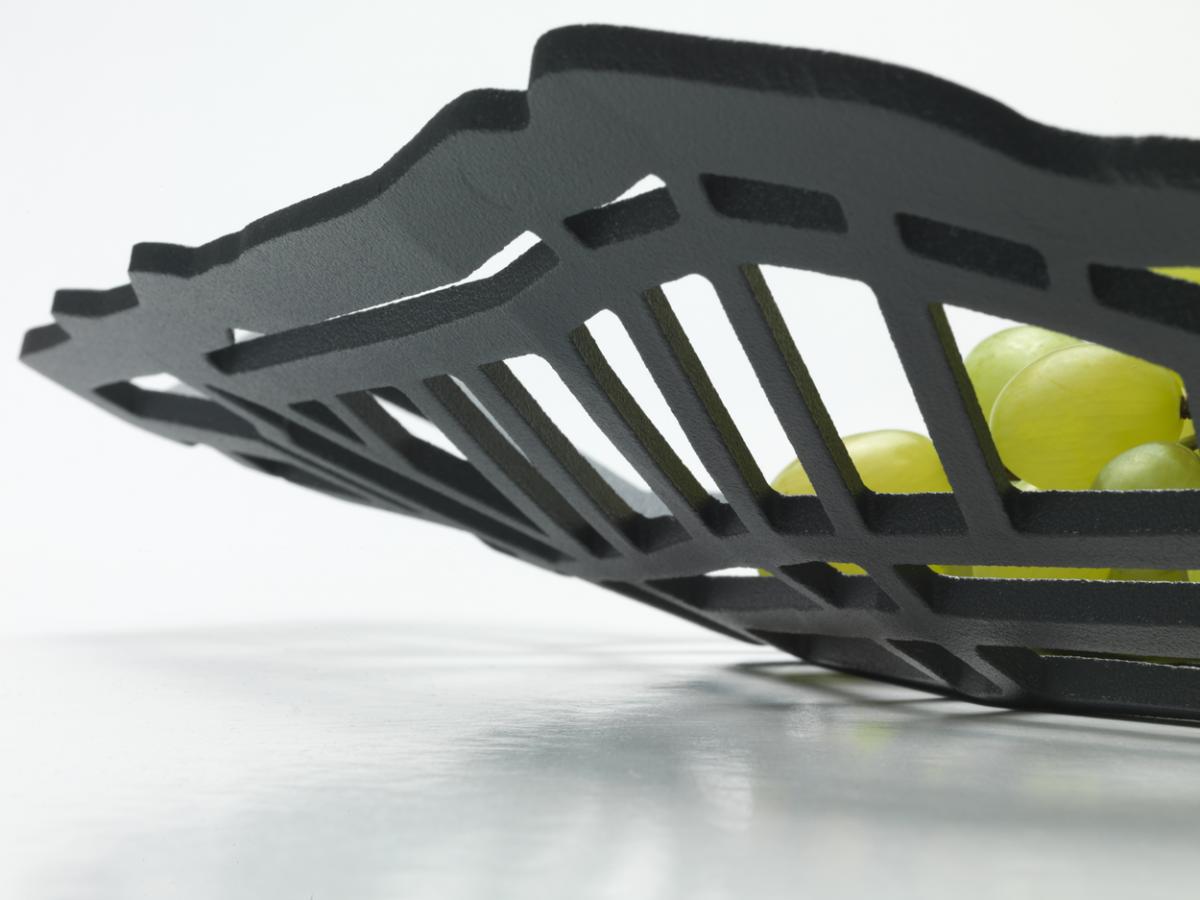 Frederik Roije METROBOWL Antraciet Schaal Luxe Design