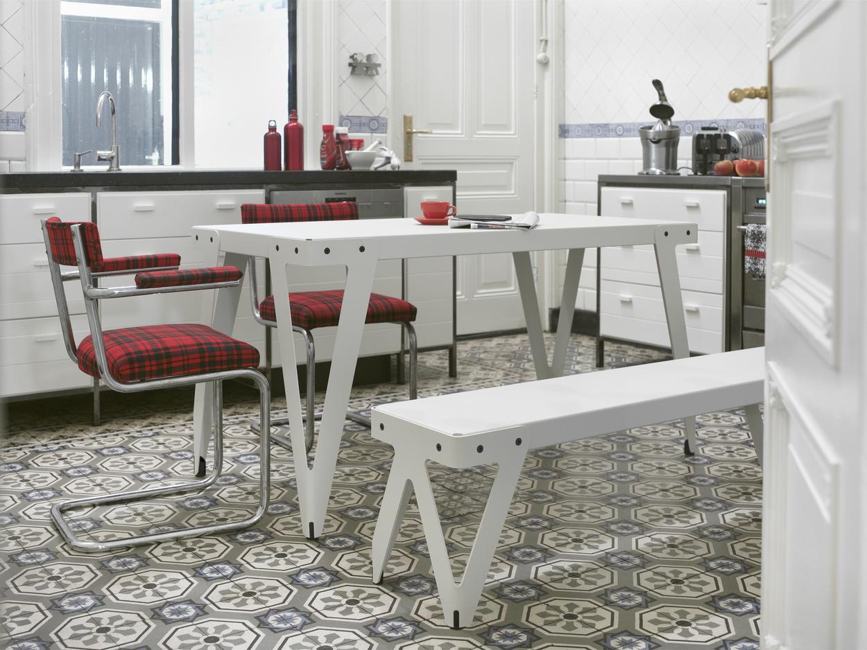 Wit Bankje Eettafel.Functionals Lloyd Tafel Kopen Bestel Online Bij Gimmii Dutch Design