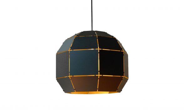 Booom hanglamp zwart/goud