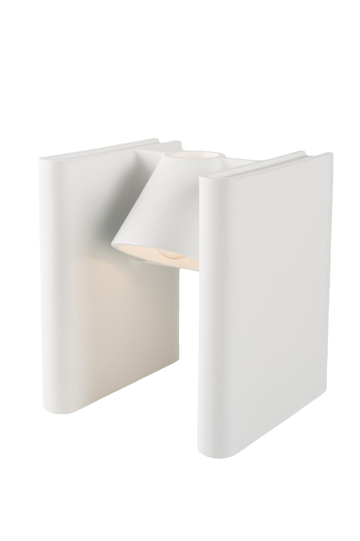Boekensteun Mr Ed White Lamp Roderick Vos Functionals