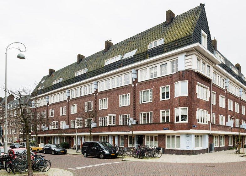 Buitenkant Apartment Amsterdam MAMM Design