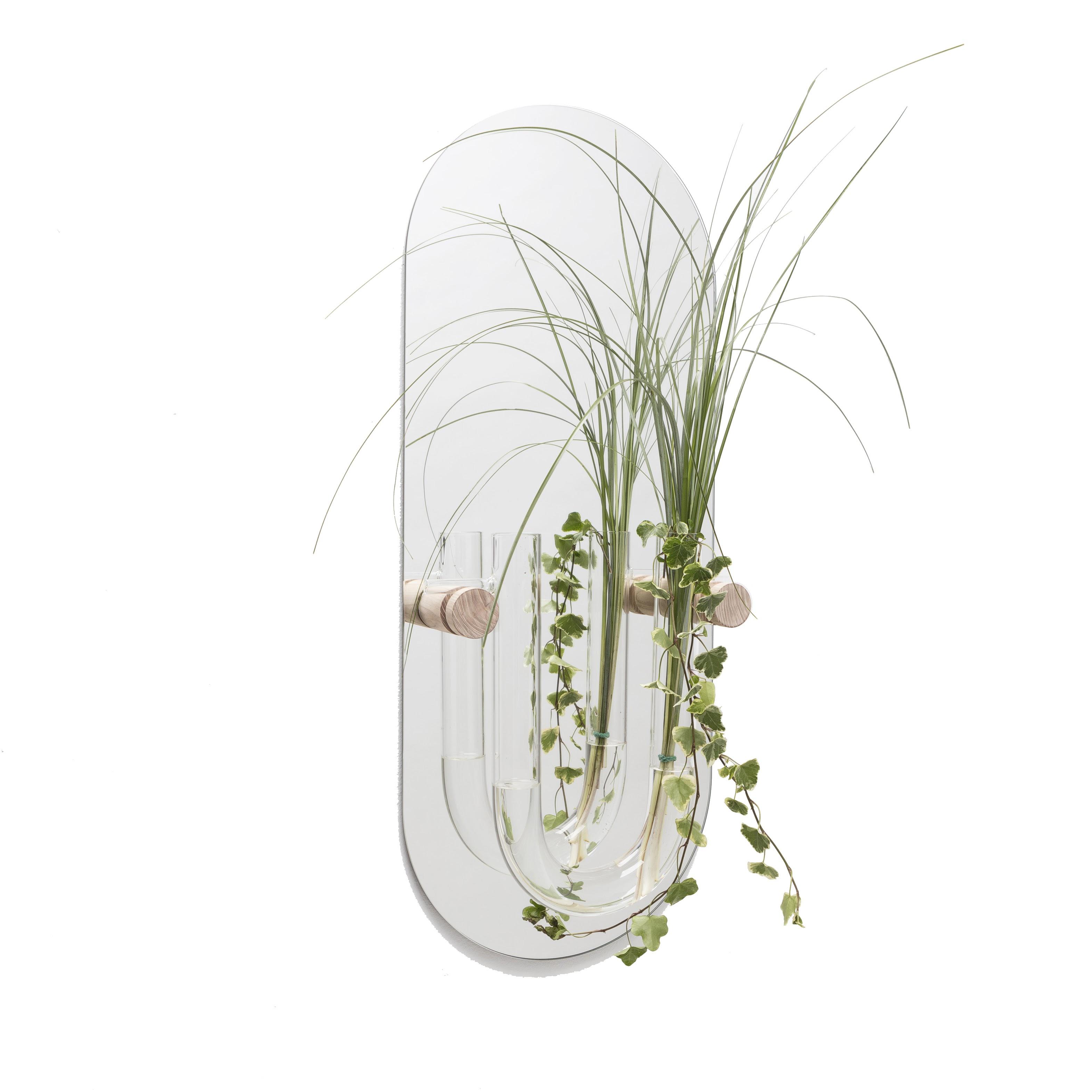 Spiegel Wandvaas Plant You Tube M Clear Vantjalleenjasper