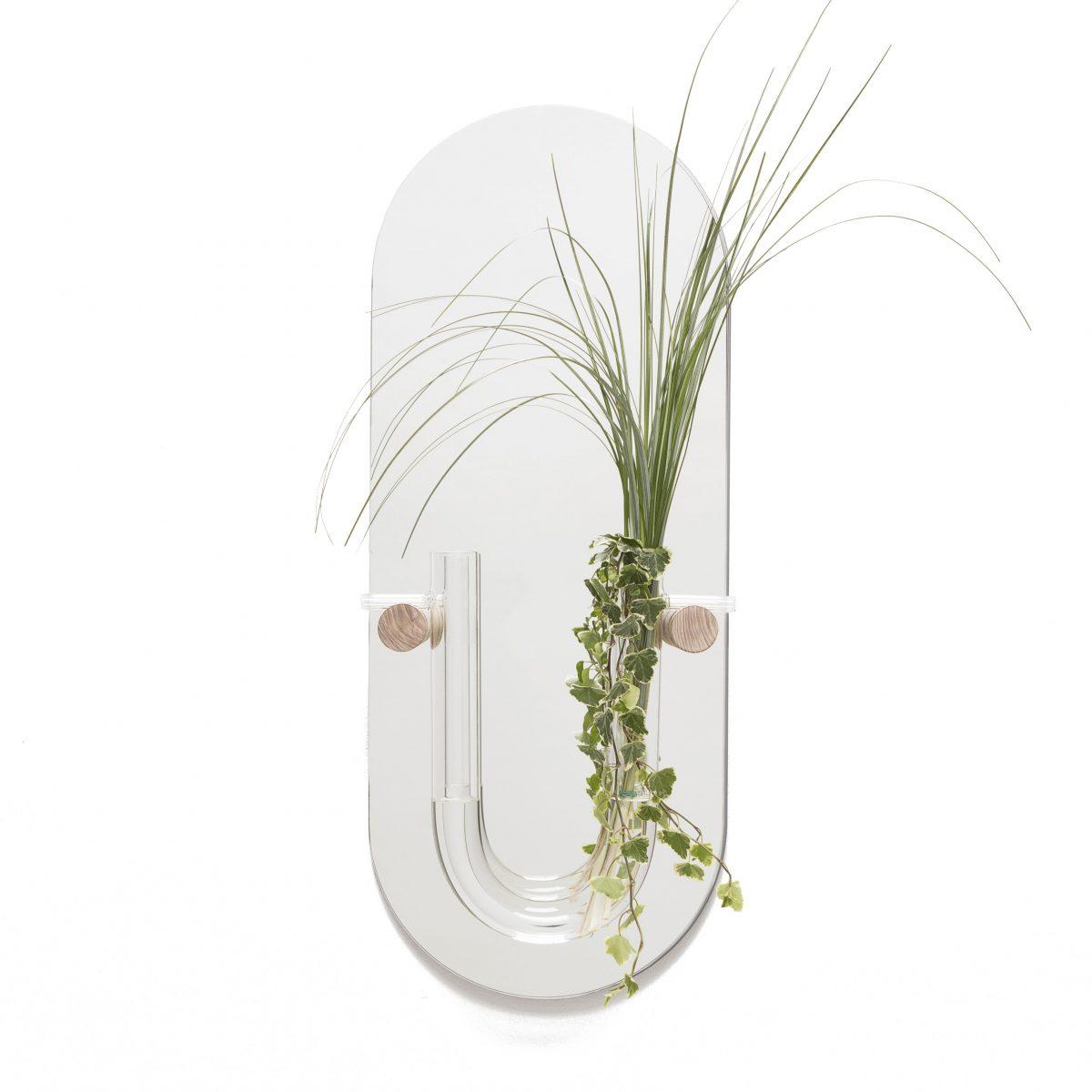 Wandvaas Plant Spiegel You Tube M Helder Glas Gimmii Shop