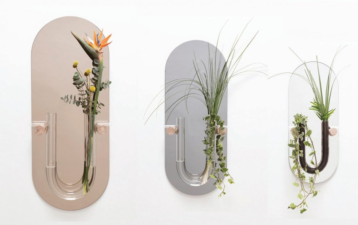 Een Dutch design wandvaas spiegel kunstwerk aan je muur