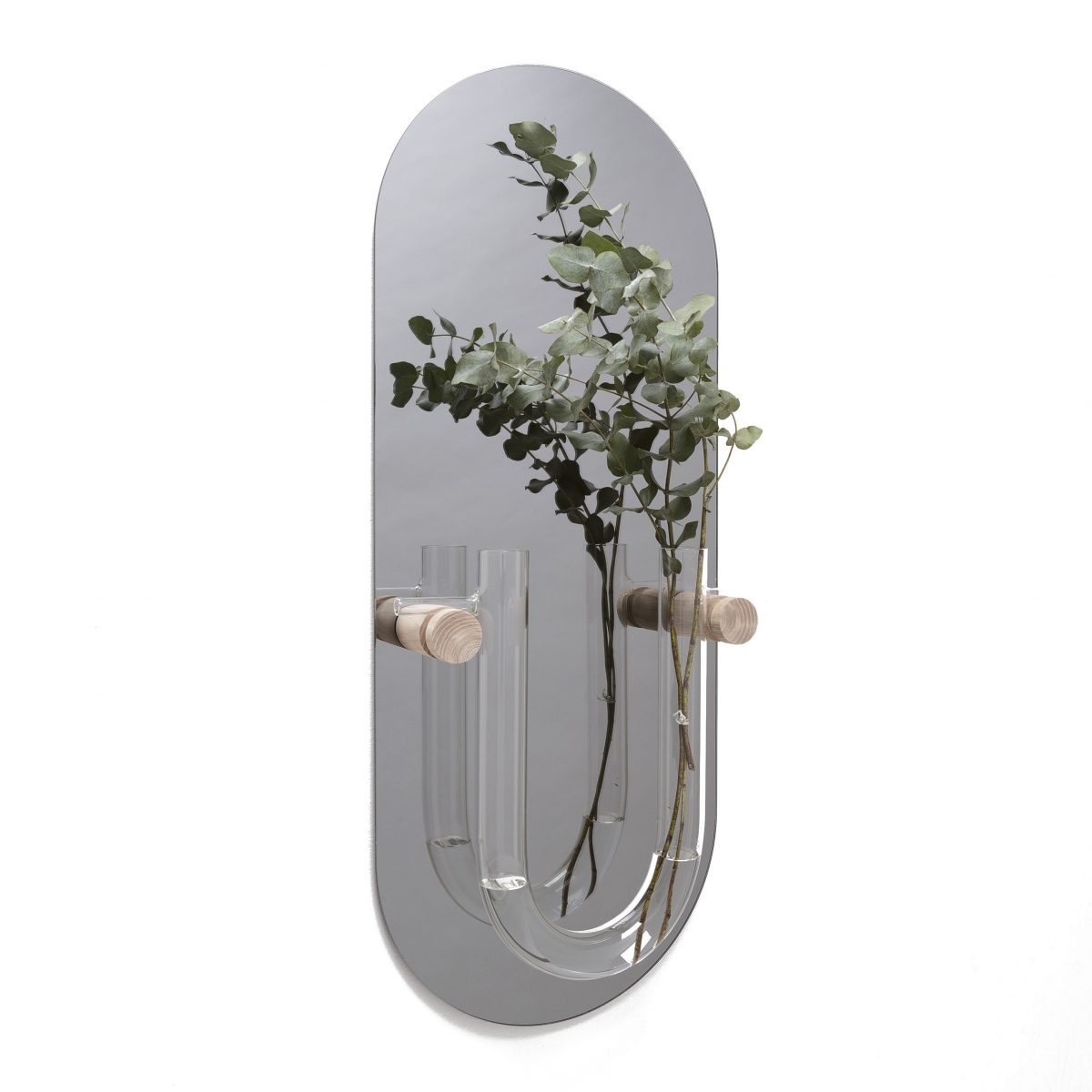 Vantjalleenjasper YouTube L Gray Mirror Vase Reageerbuis