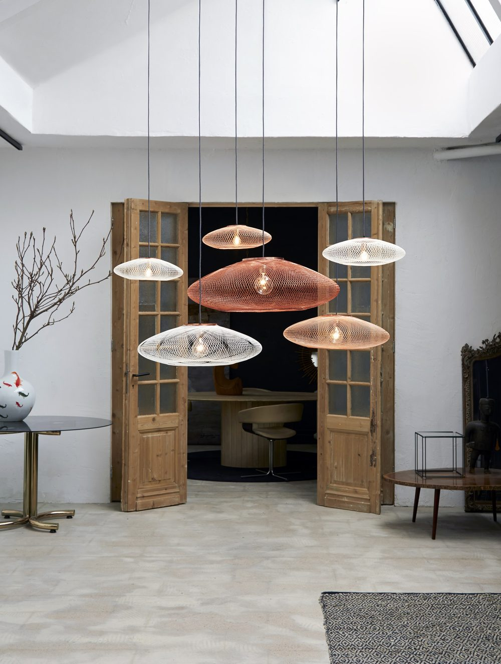 Atelier Robotiq UFO Hanglamp Small Medium Large Gimmii