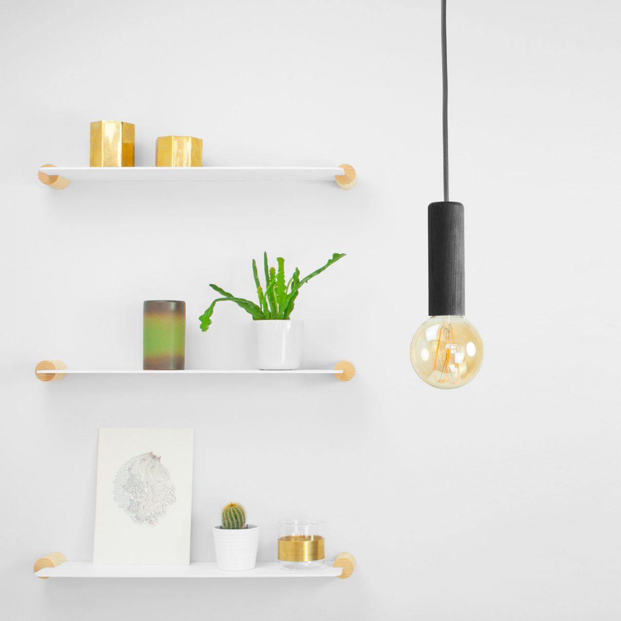 Mini hanglamp is mooi minimalisme met dubbele functie
