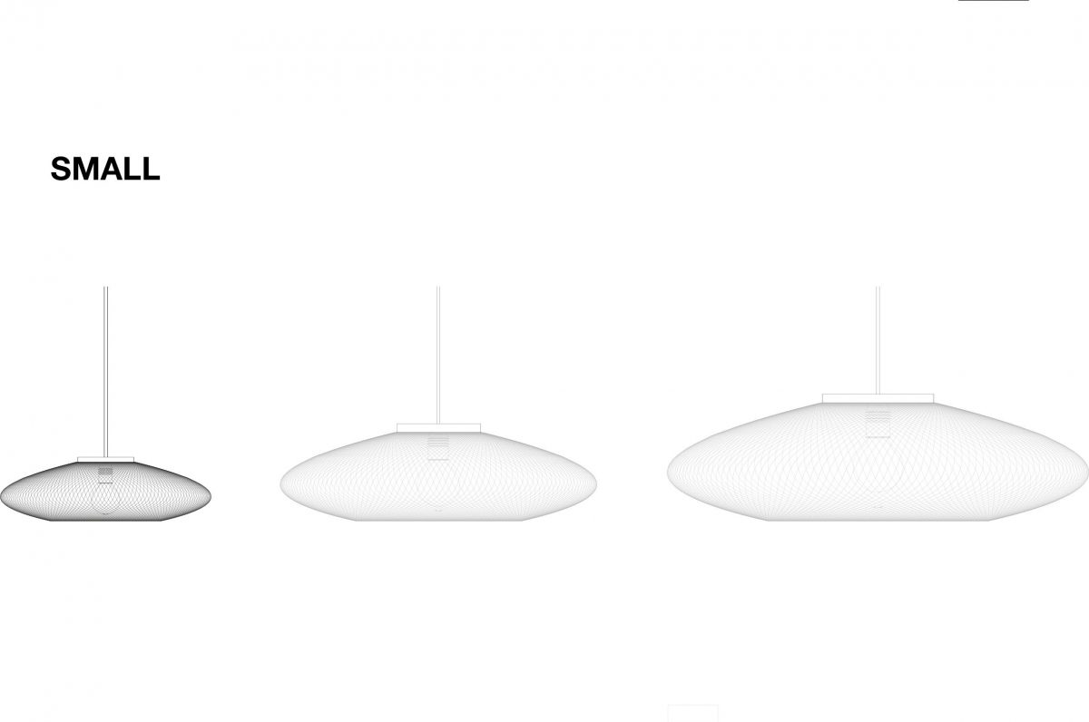 UFO Small hanglamp van Atelier Robotiq