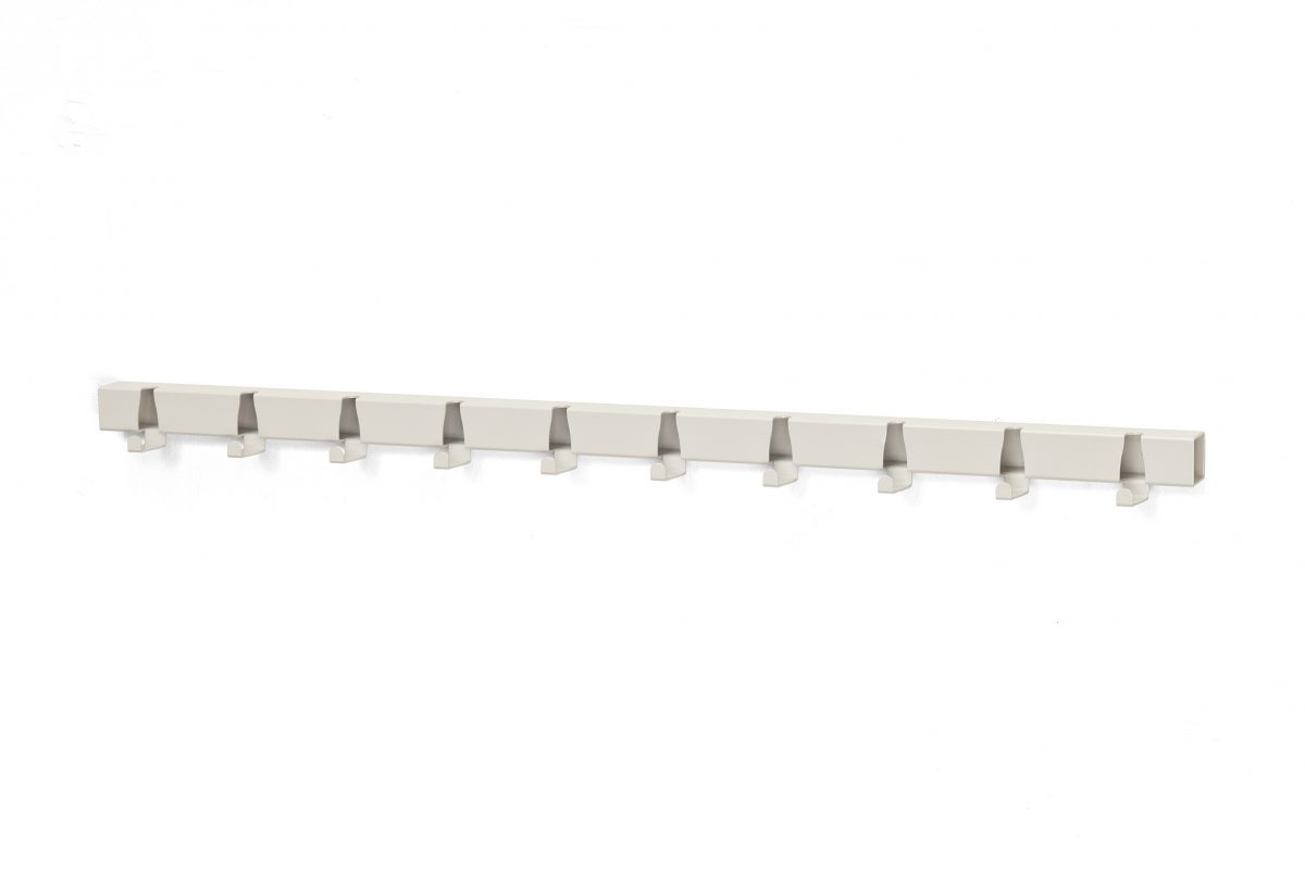 Vij5 Coatrack By The Meter White 10 Hooks 2014 (image By Vij5)