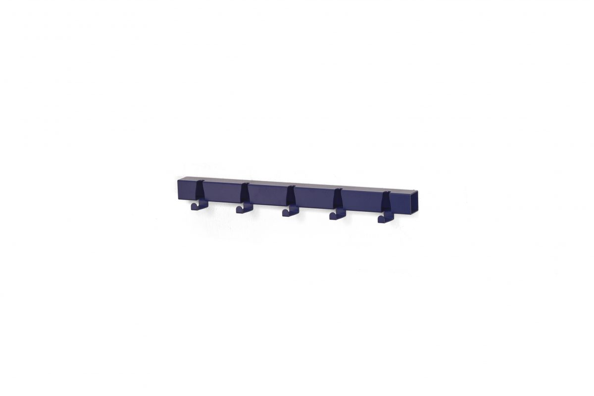 Vij5 Kapstok Coatrack By The Meter Blue Blauw 5 Hooks Gimmii Shop Dutch Design