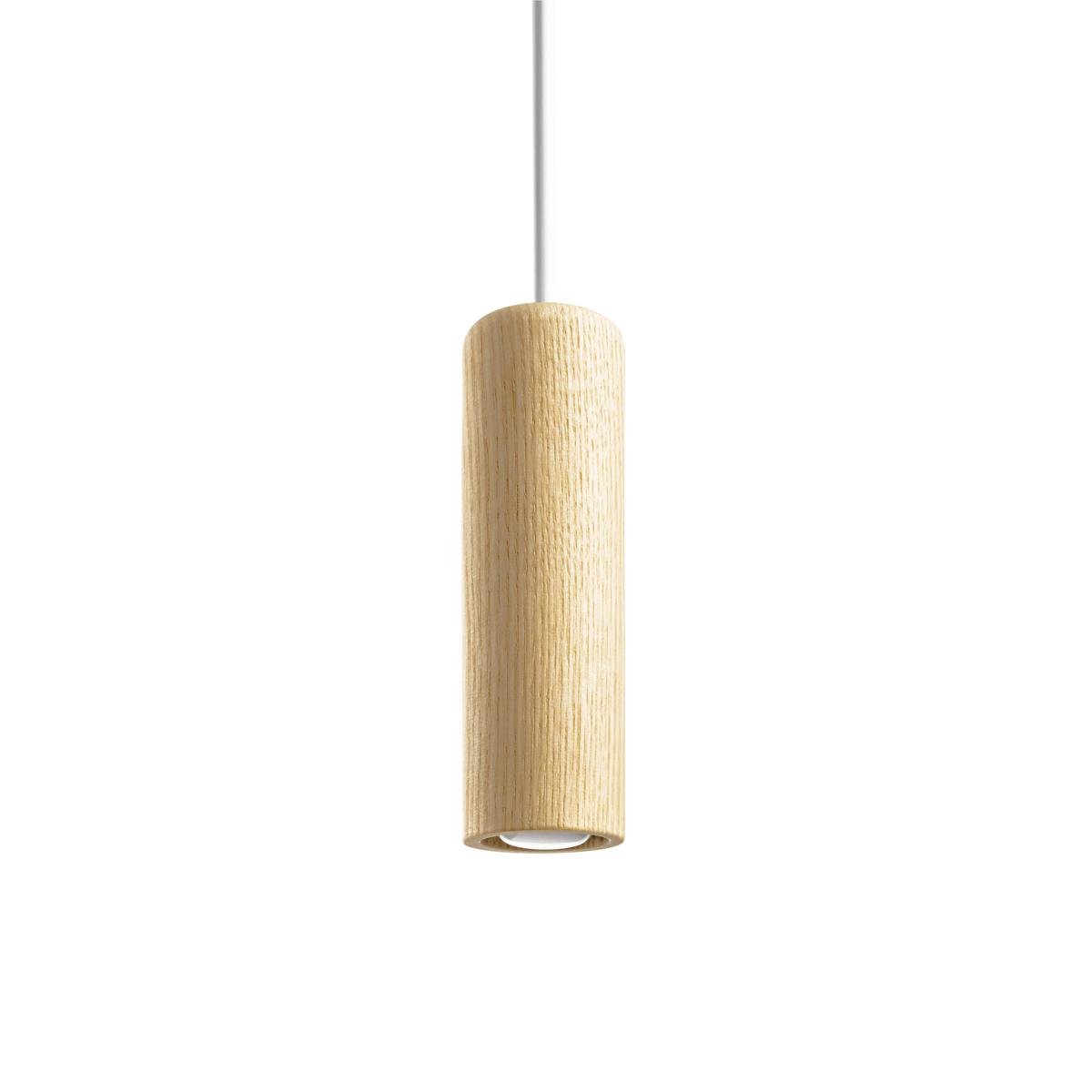 Mini Hanglamp Transparant Hout Minimalisme Gimmii