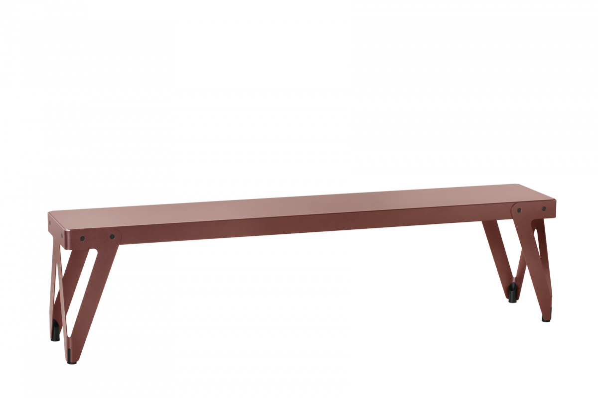 Functionals Lloyd Bench 170 Rust Red Rood Bank Staal
