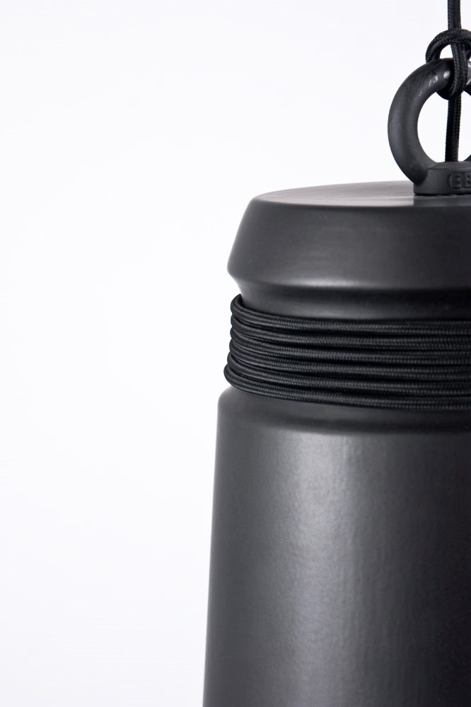 Patrick Hartog Cable Light Large Pendant Black Hanglamp Zwart Gimmii
