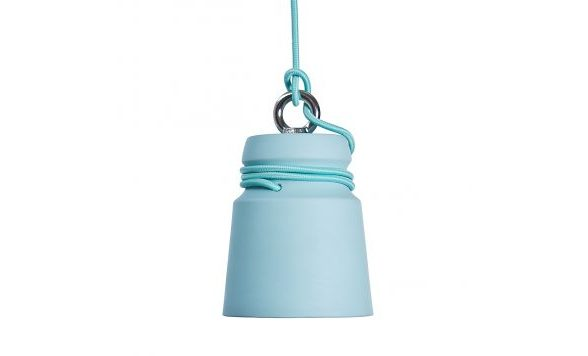 Cable light hanglamp small pastelblauw