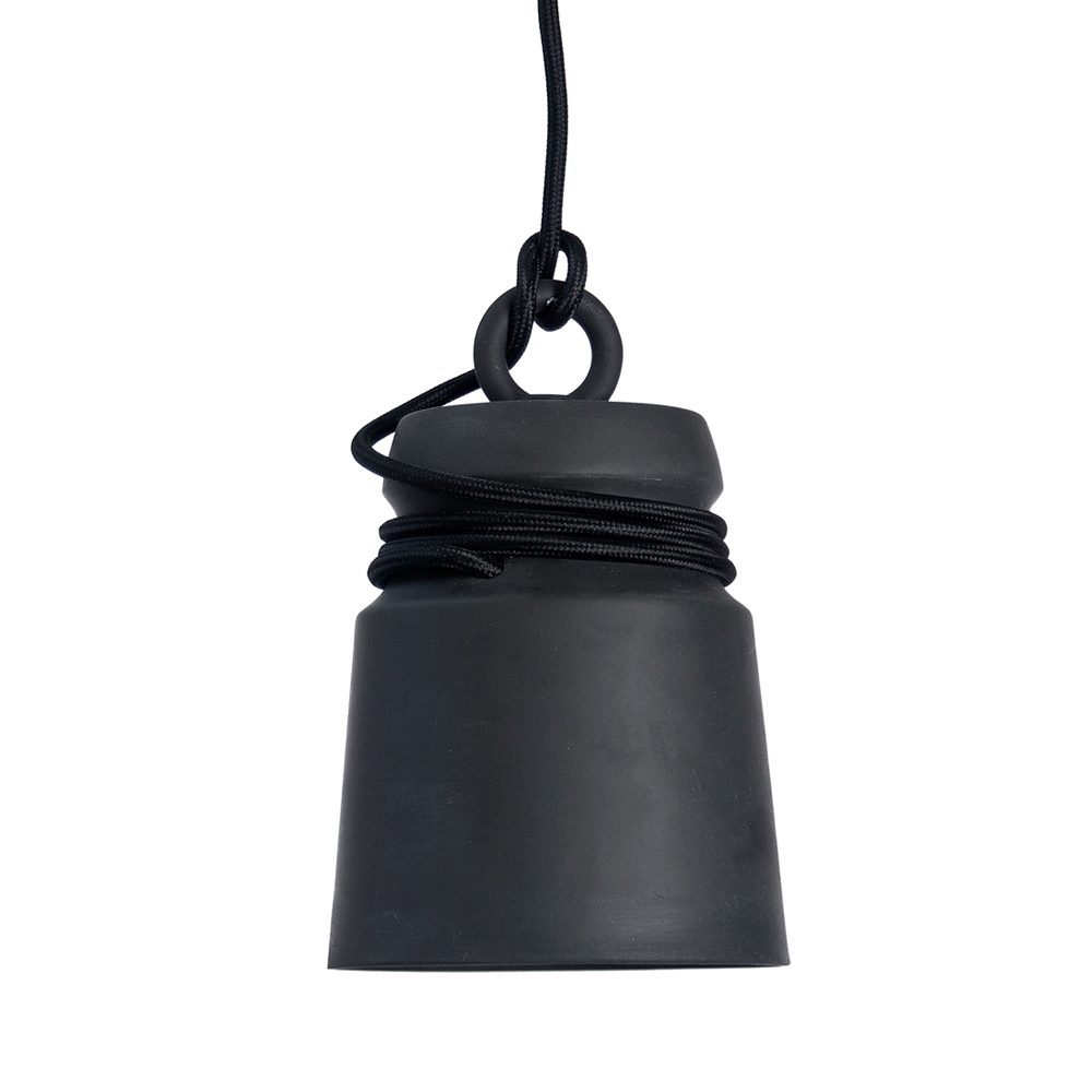 Cable light hanglamp small zwart