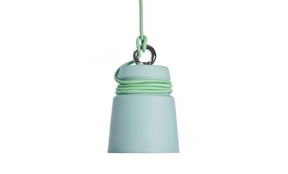 Cable light hanglamp small mintgroen
