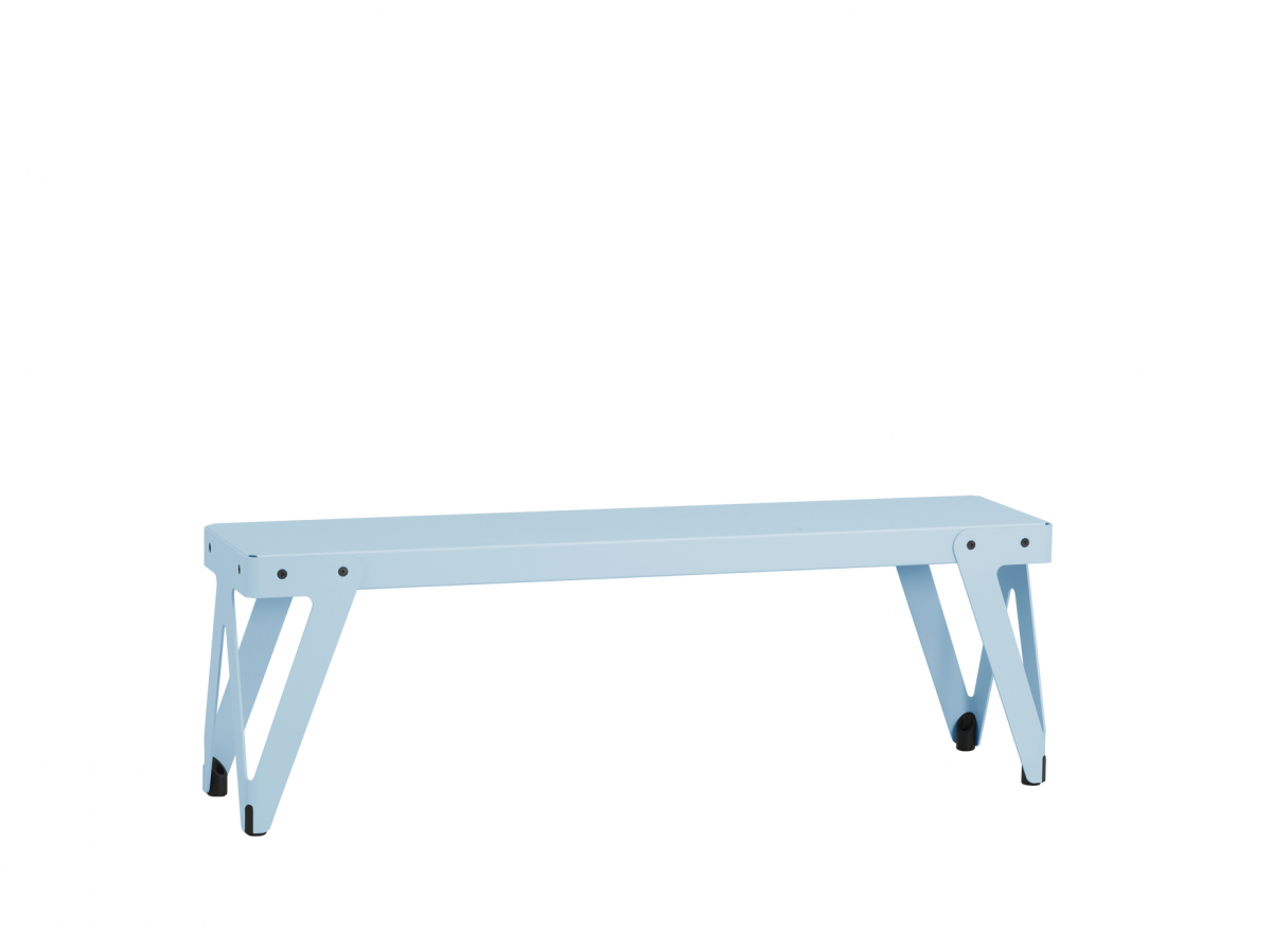 Functionals Lloyd Bench 140cm Light Blue Blauw Bank Functionals Gimmii