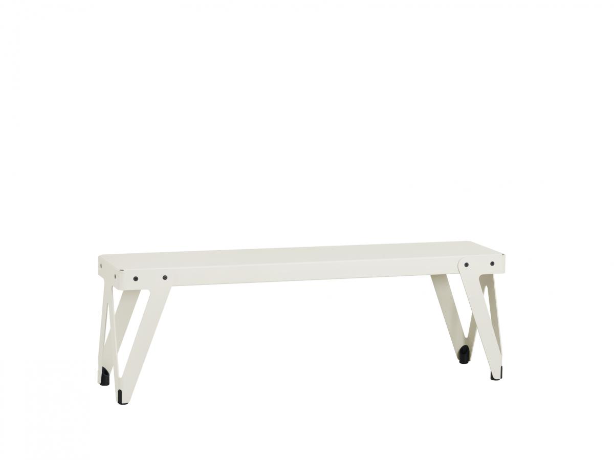 Functionals Lloyd Bench 140cm White Wit Bank Stevig Dutch Design Gimmii