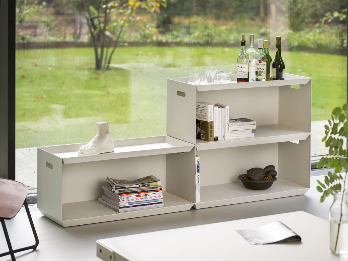 Functionals Ossa White Wit Kast