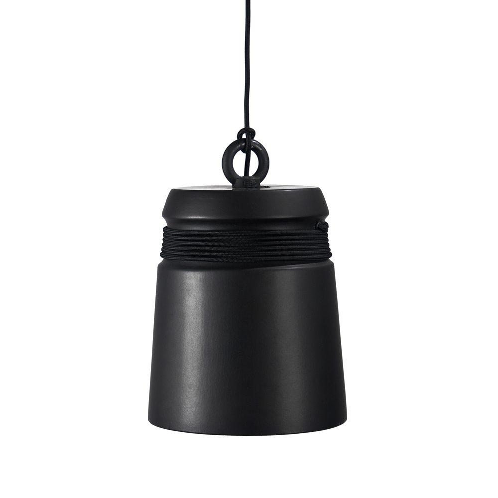 Cable light hanglamp large zwart