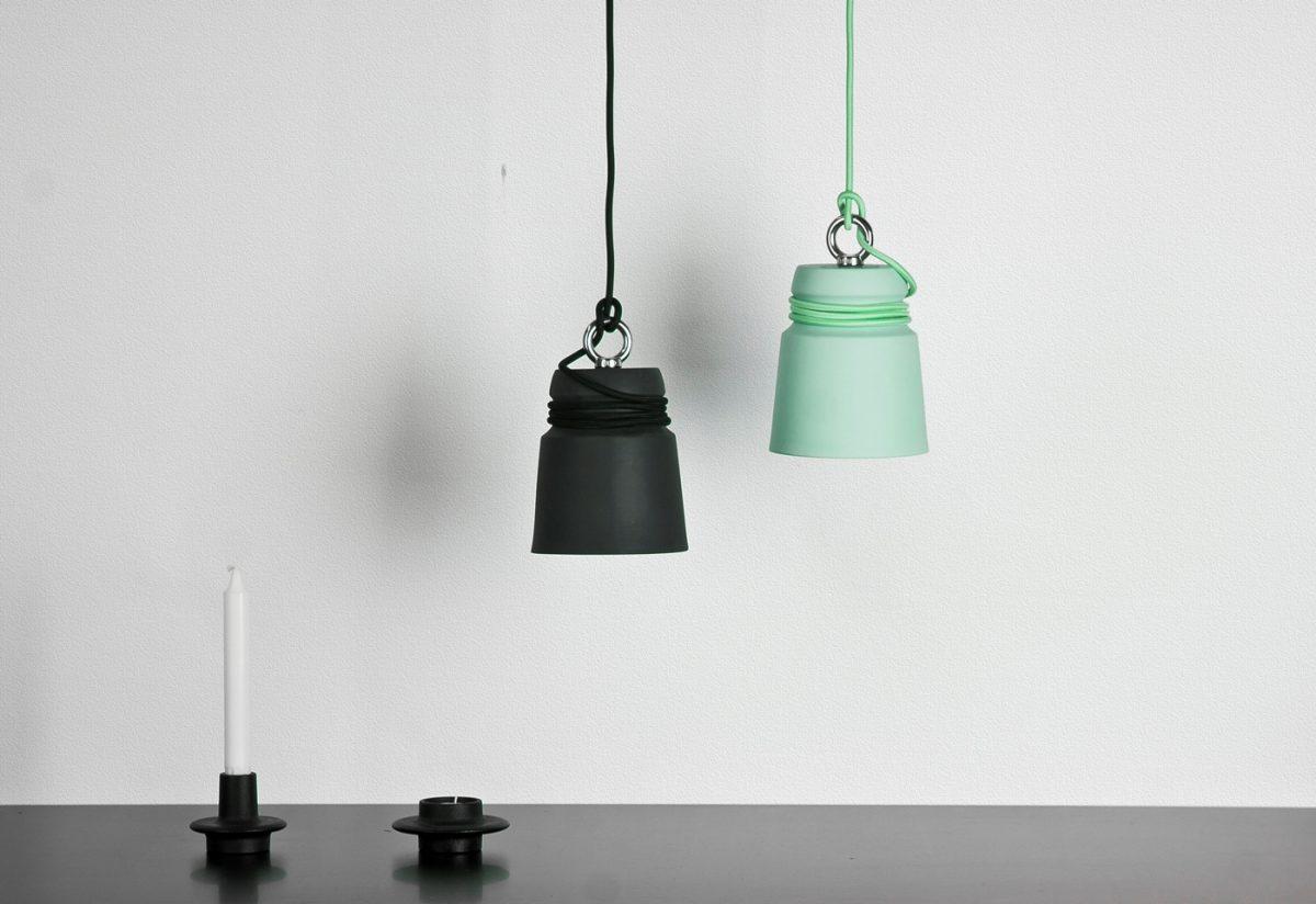 Patrick Hartog Mint Groen Zwart Cable Light Sfeer Gimmii