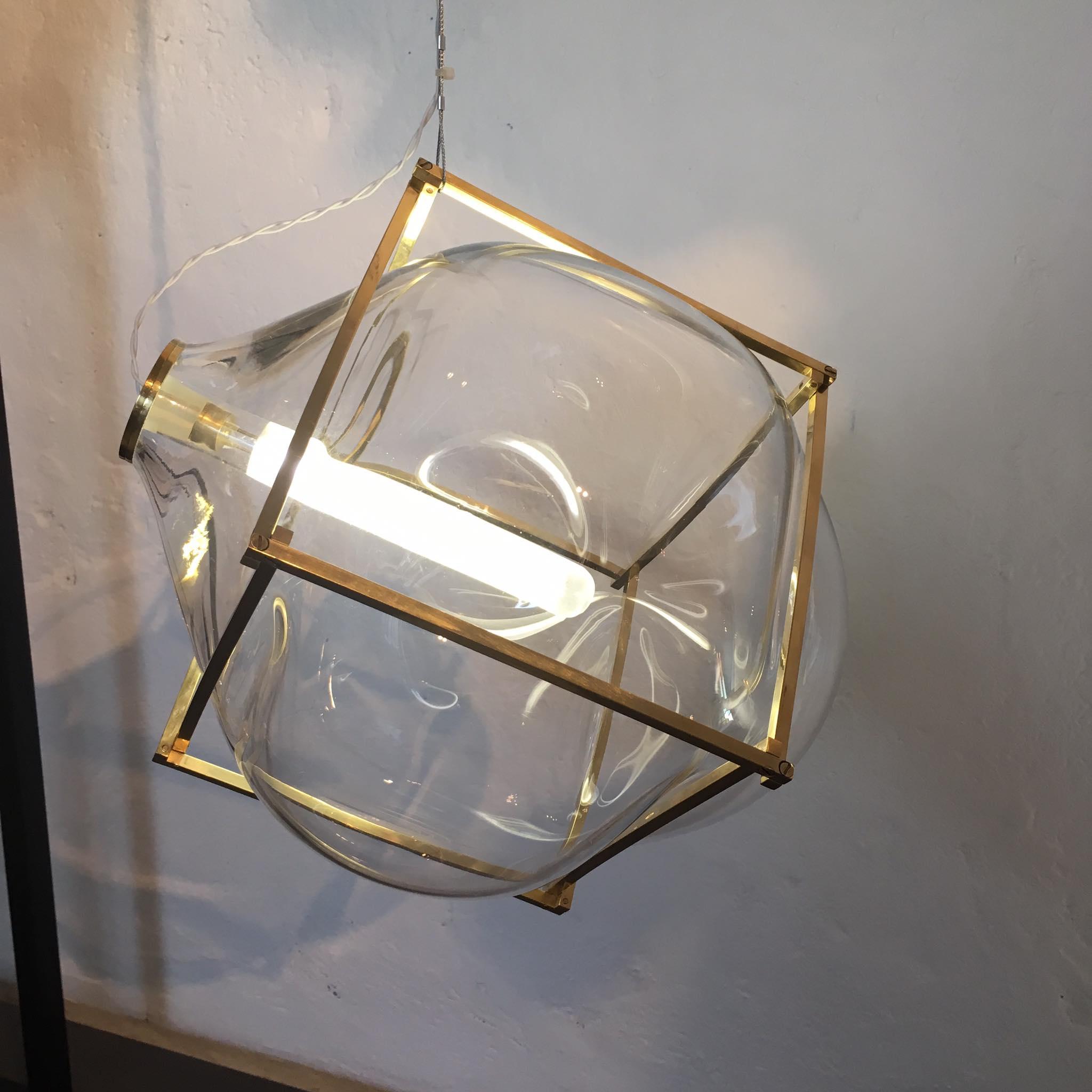 Thier Vandaalen Lamp Glas Organic Milaan Foto Gimmii Shop