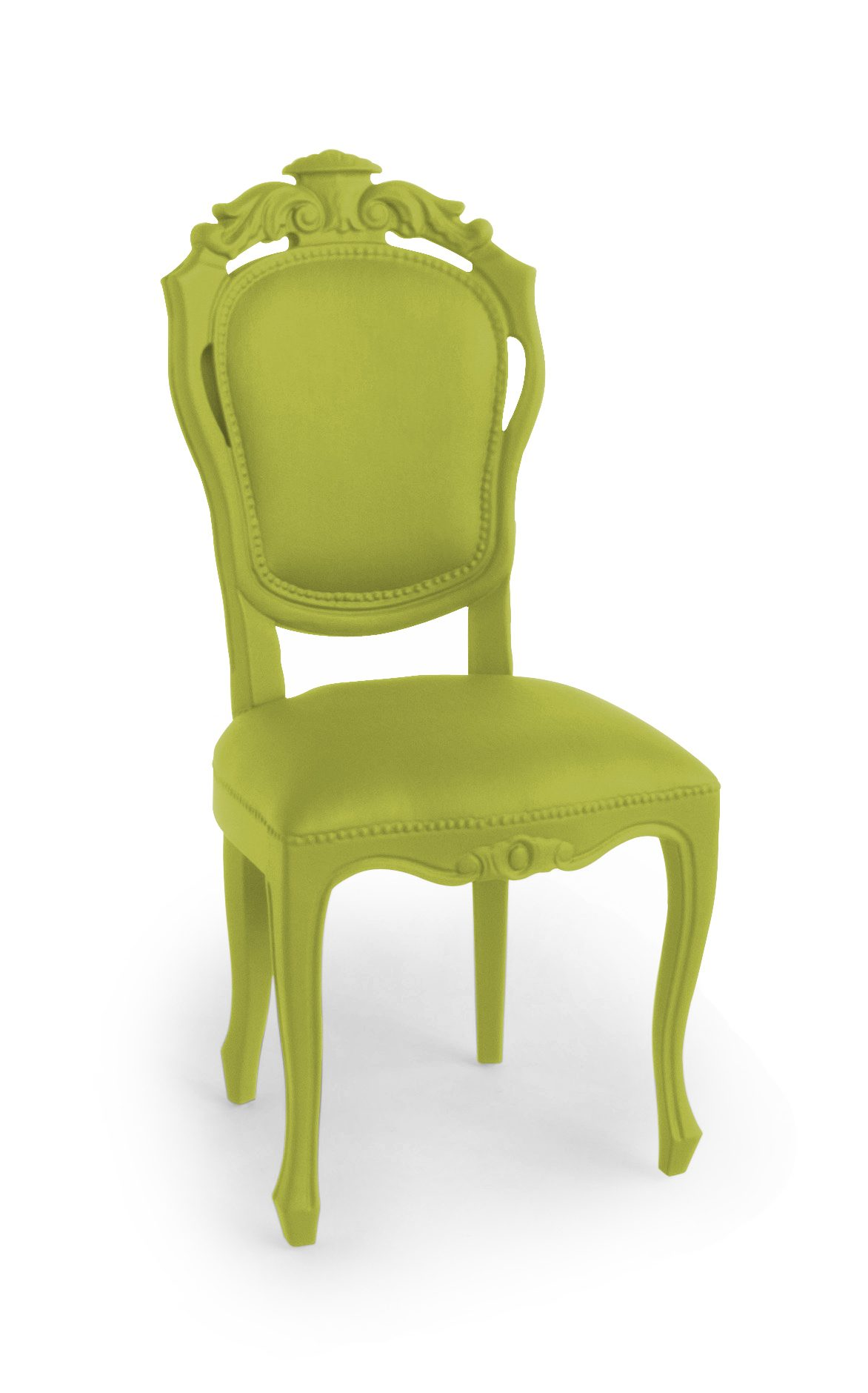 JSPR Plastic Fantastic Dining Chair Lime Exclusieve Stoel Dutch Design Webshop