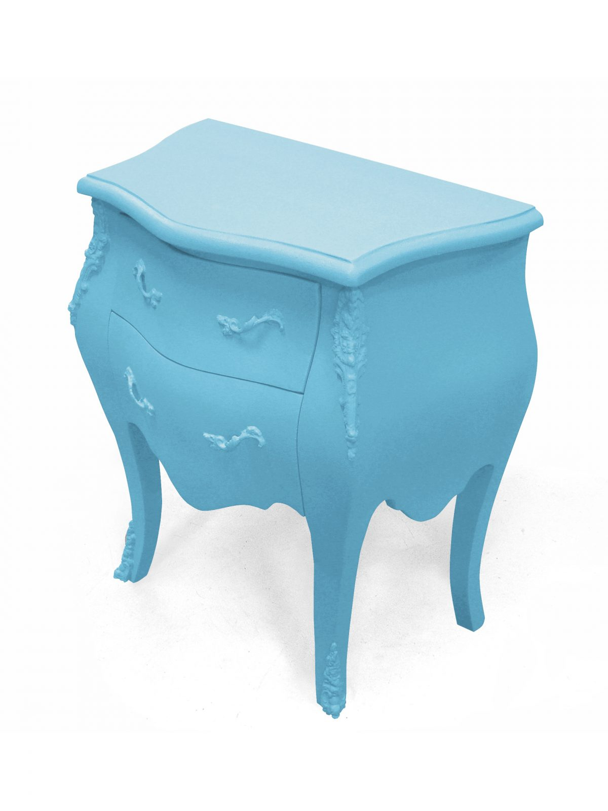 JSPR Plastic Fantastic Dressoir Soft Blue Lichtblauw Excusief Kastje Dutch Design