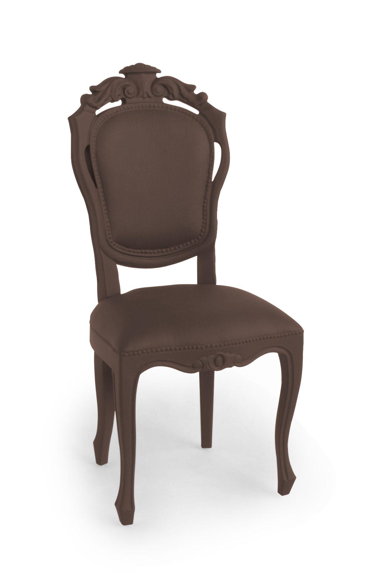 Plastic Fantastic Eettafelstoel Jspr Dining Chair Brown Bruin Exclusieve Meubels