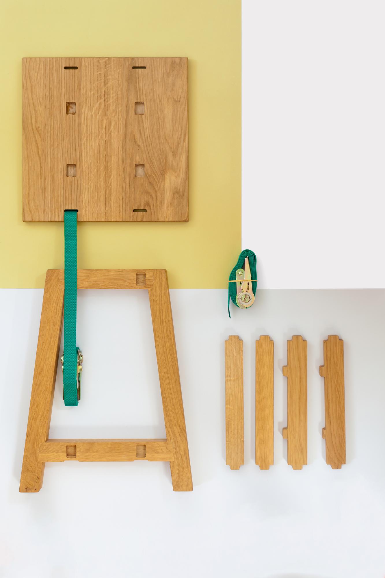 Vij5 Strap Stool Kruk Dutch Design meubels Gimmii Webshop Woonkamer Project