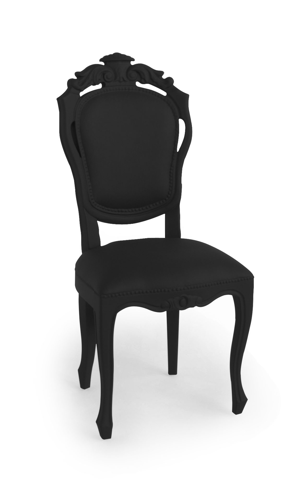 Jspr Plastic Fantastic Dining Chair Black Exclusieve Stoel Indoor Outdoor