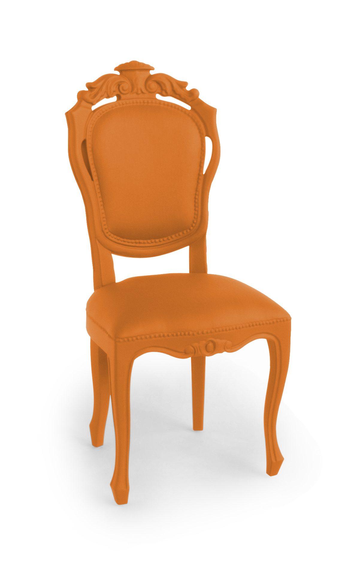 Jspr Plastic Fantastic Dining Chair Orange Exclusieve Stoel Oranje Webshop