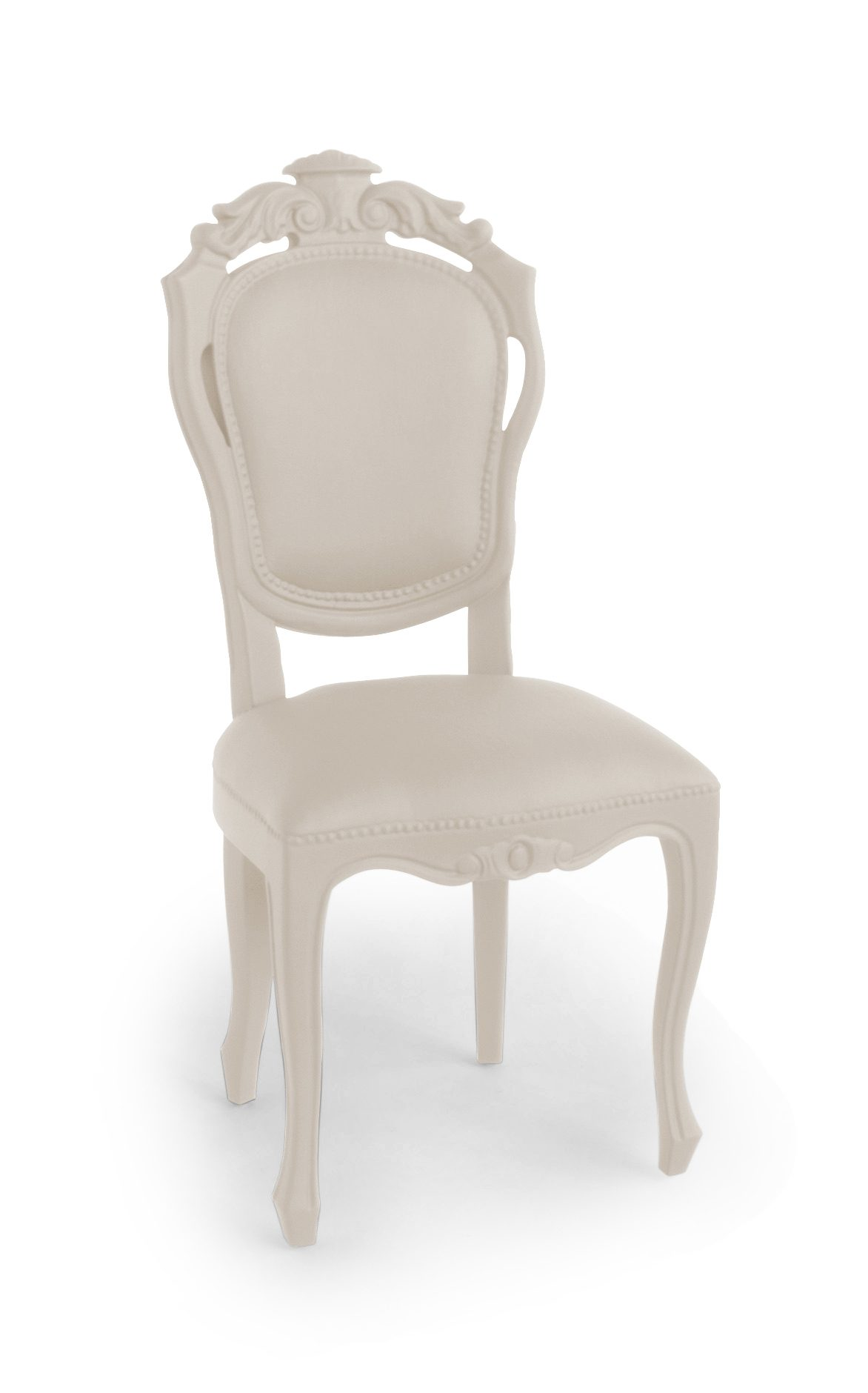 Jspr Plastic Fantastic Dining Chair Sand Exclusieve Eettafelstoel Rubber