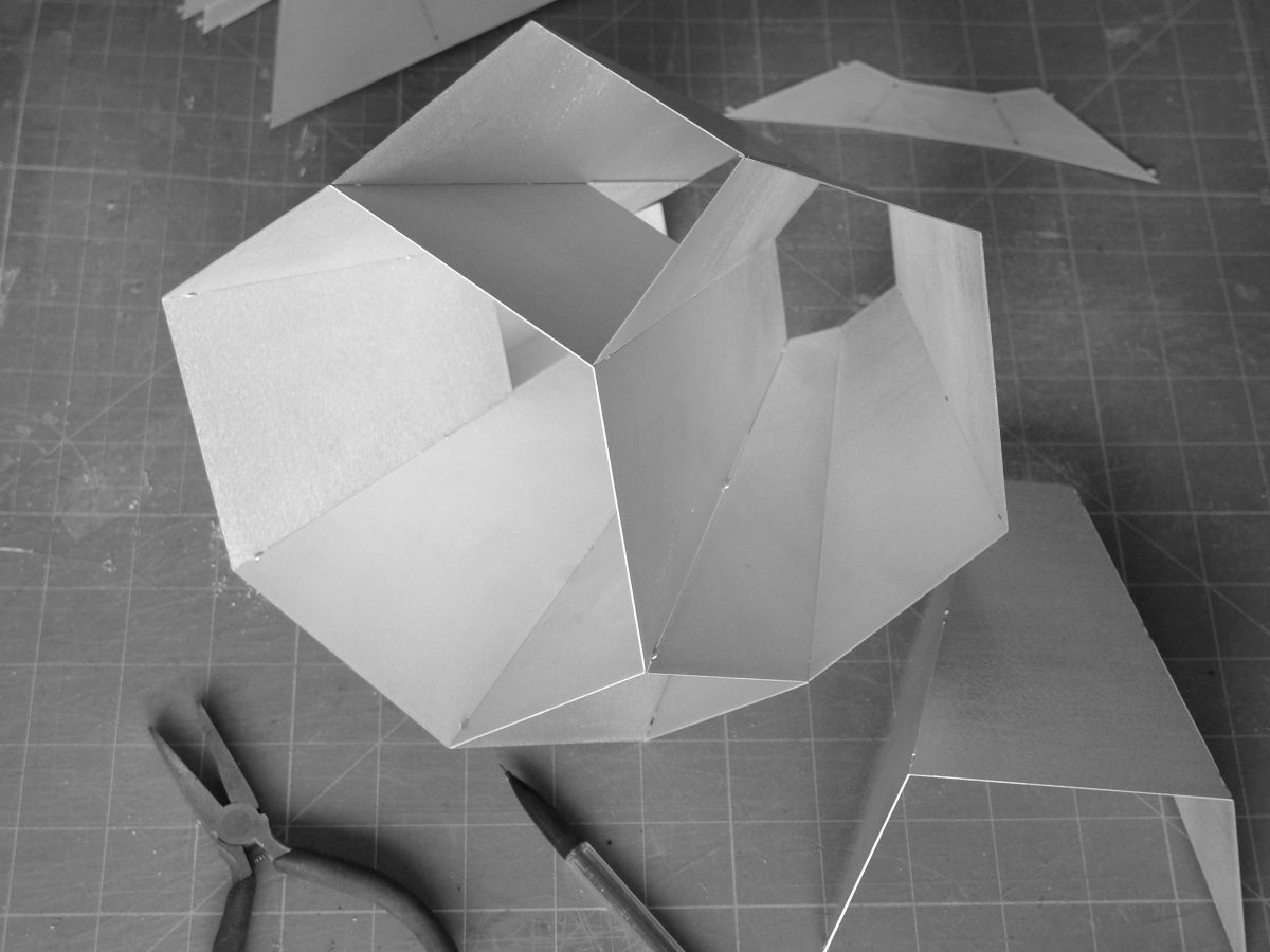Fractal Lamp Tafellamp Marc Degroot Productie Proces Dutch Design