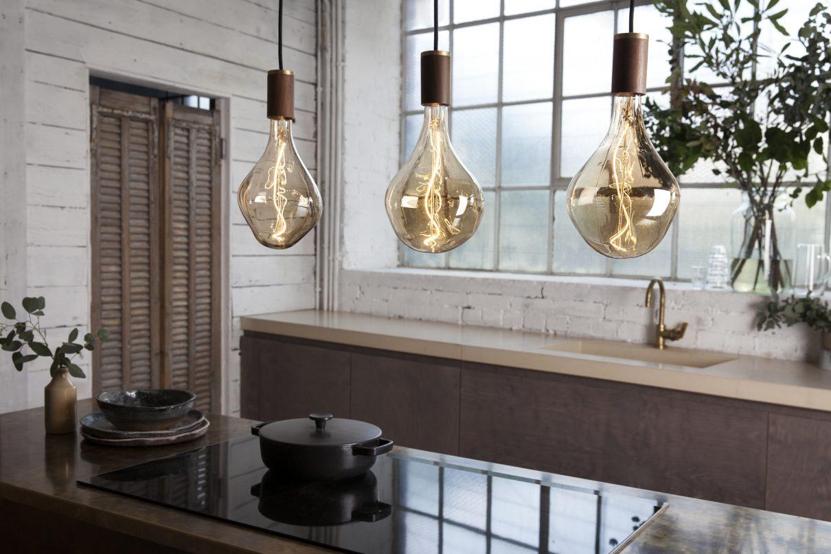 Lichtbron Voronoi (Tala LED) ademt natuur…