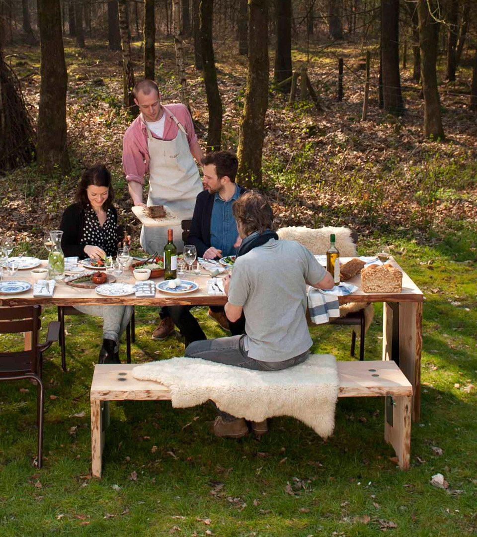 Weltevree Forestry Bank Hout Outdoor Fun Design